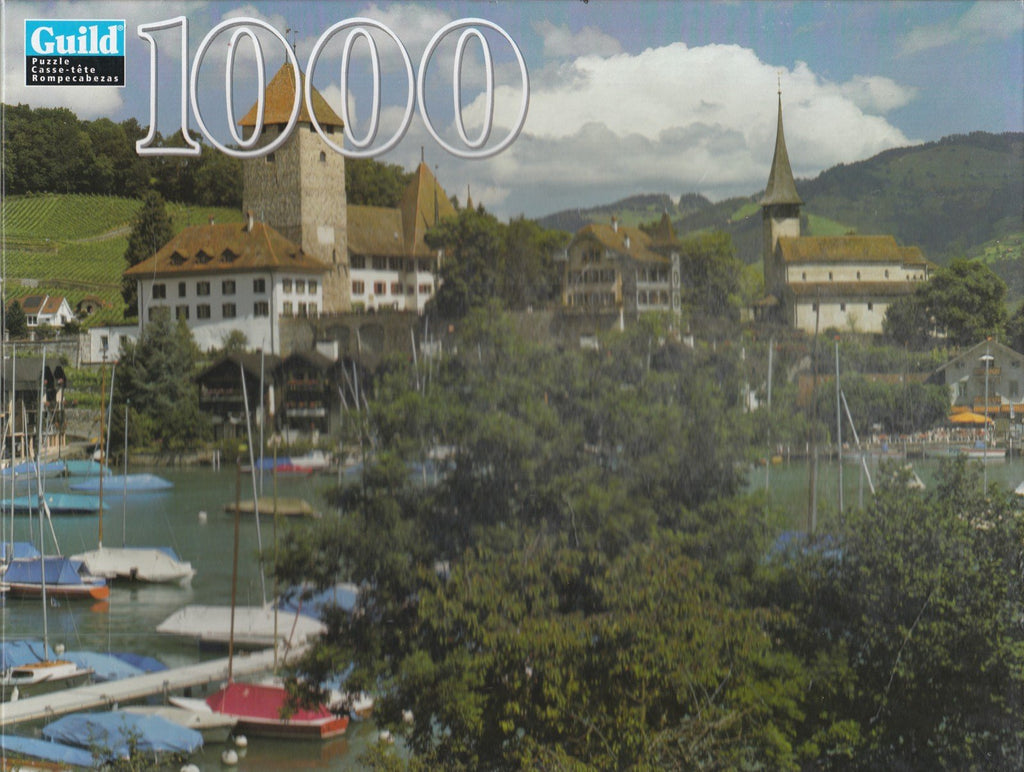 Berner Oberland, Switzerland 1000 Piece Puzzle