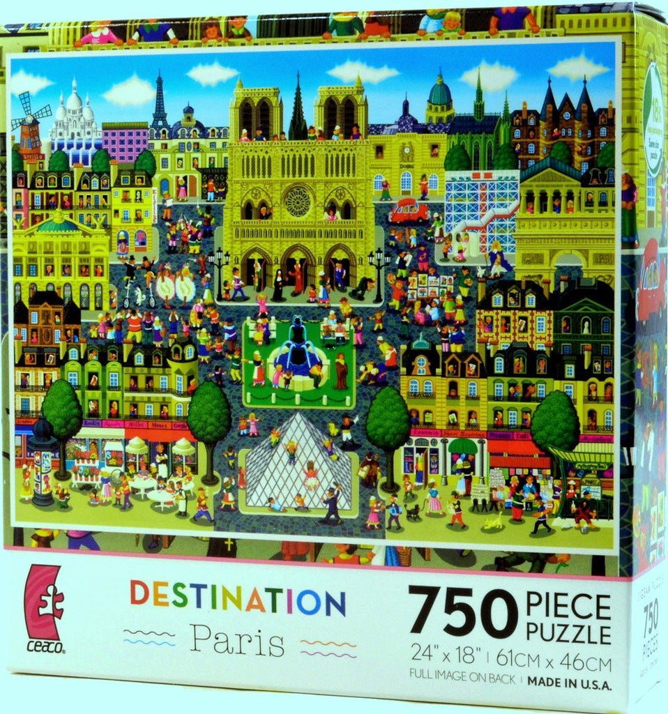 Destination Paris 750 Piece Puzzle