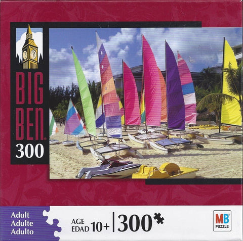 Catamarans on Cable Beach 300 Piece Puzzle