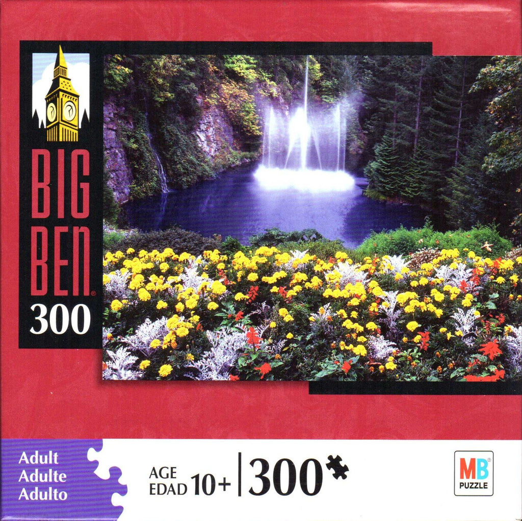 Waterfall in British Columbia 300 Piece Puzzle