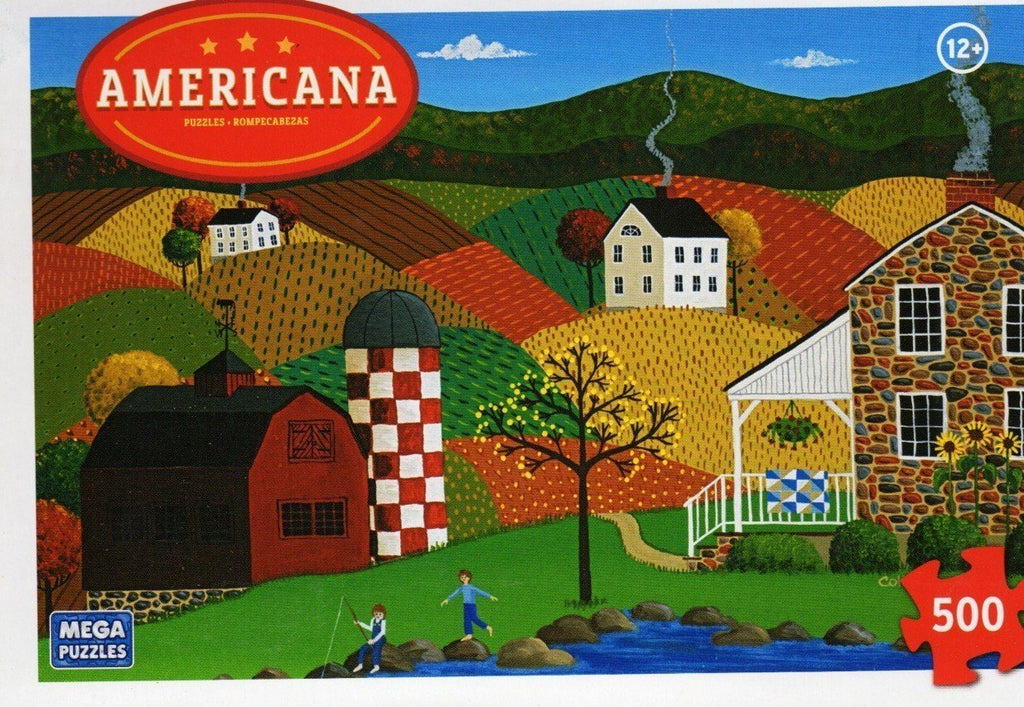 Americana Puzzle - Indian Summer
