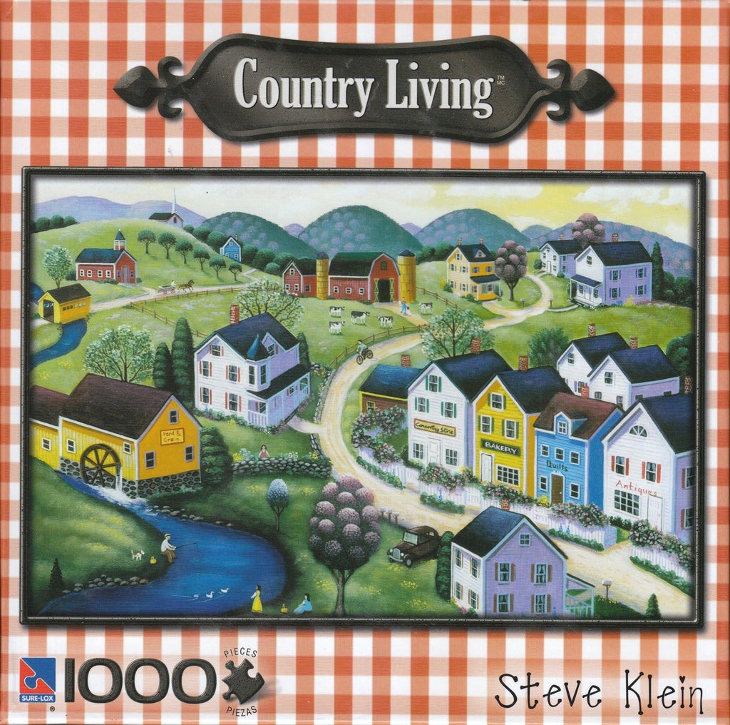 Peaceful Springtime 1000 Piece Puzzle