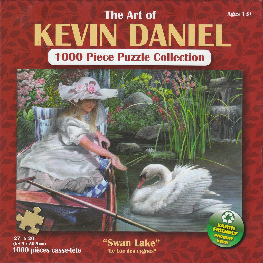 Swan Lake 1000 Piece Puzzle