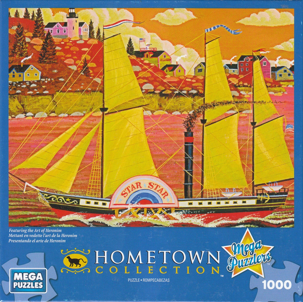 Hometown Collection: Ocean Star 1000 Piece Puzzle