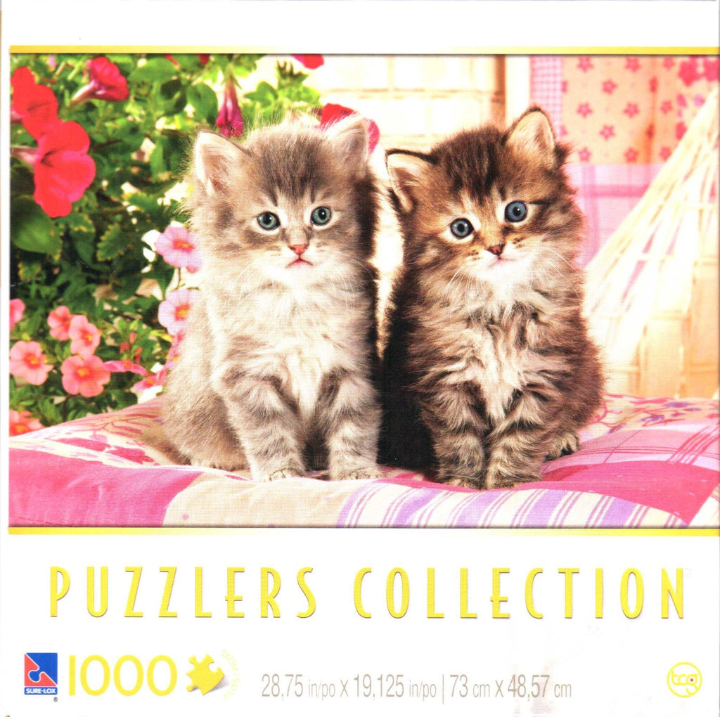 Kittens on a Pillow 1000 Piece Puzzle