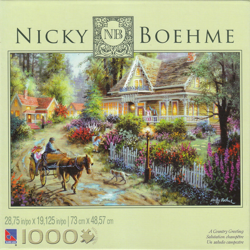 Country Greeting 1000 Piece Puzzle