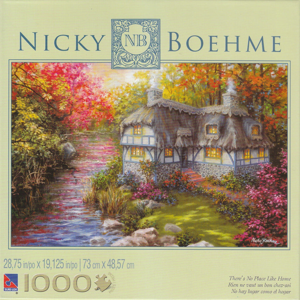 There's No Place Like Home 1000 Piece Puzzle