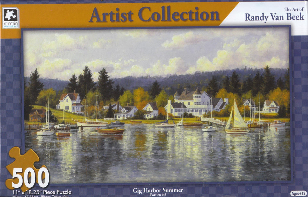 Gig Harbor Summer 500 Piece Puzzle