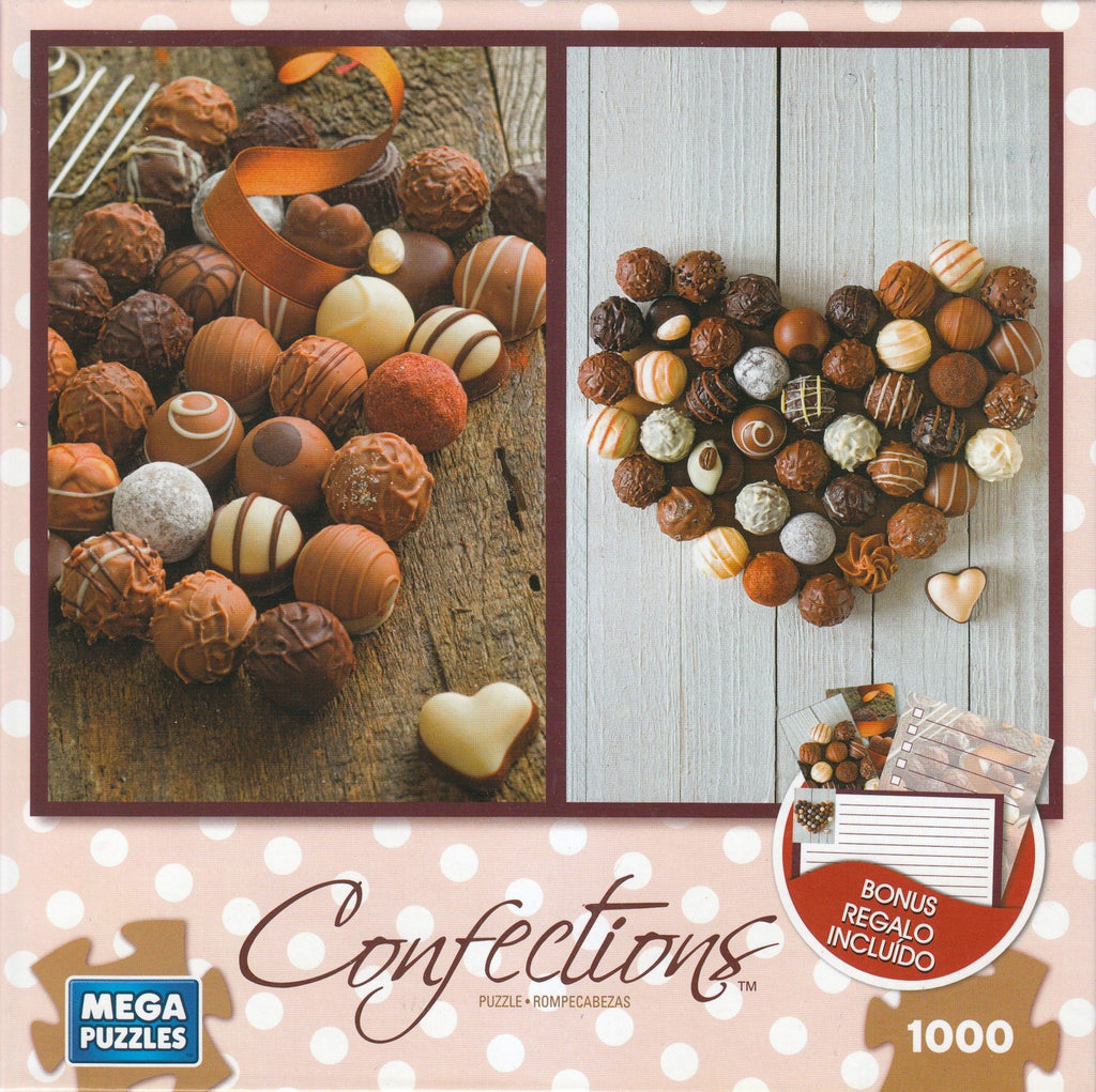 Chocolate Truffles 1000 Piece Puzzle