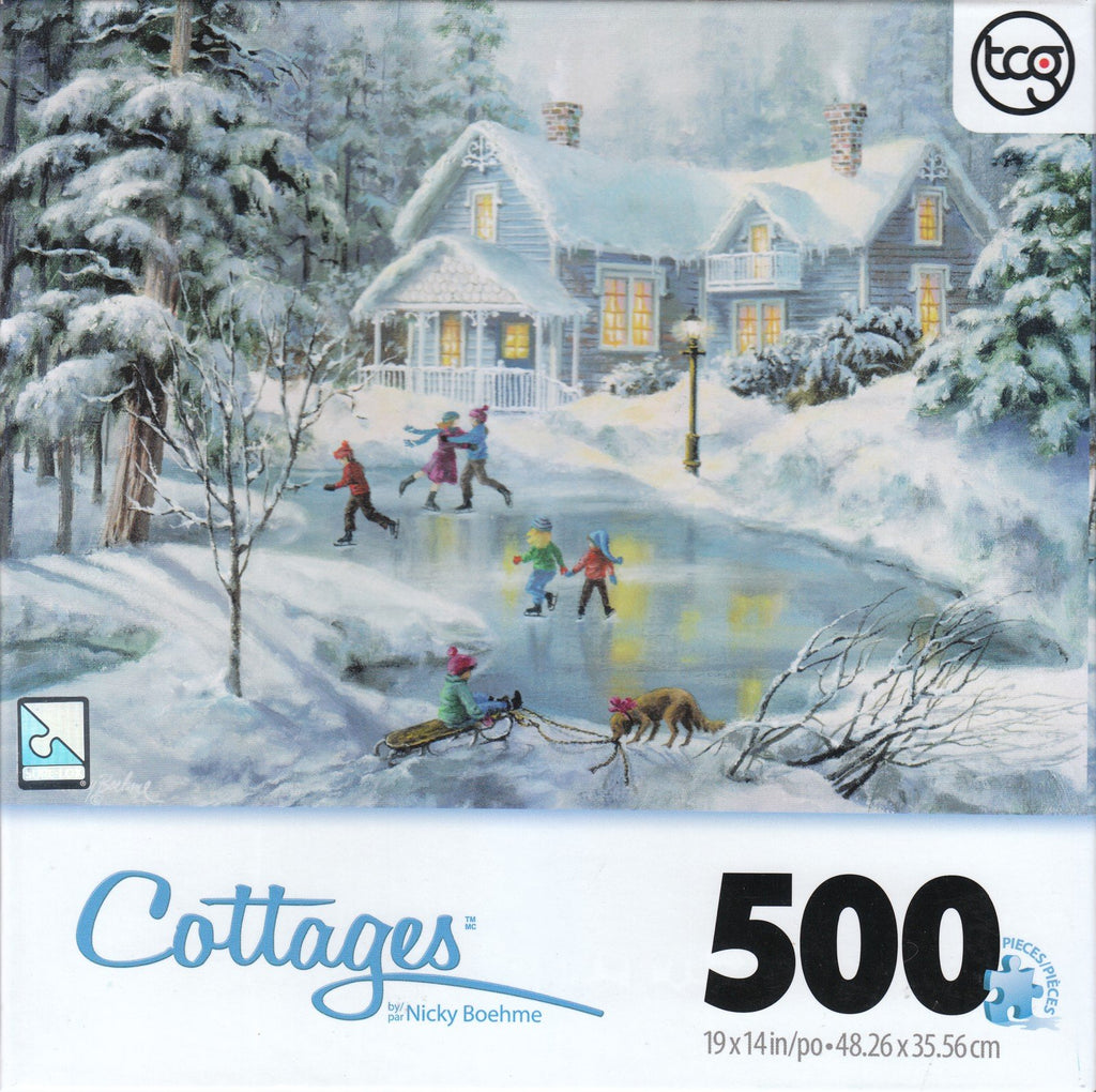 Fine Winters Eve 500 Piece Puzzle