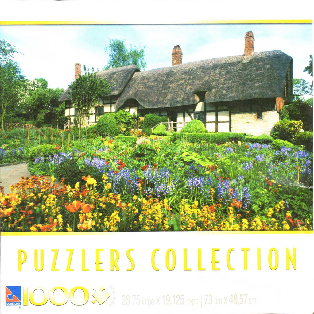 Anne Hathaway's Cottage 1000 Piece Puzzle