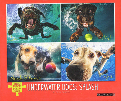 Underwater Dogs: Splash 1000 Piece Puzzle
