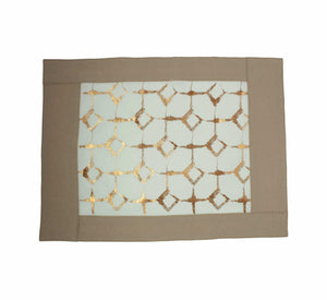 Signature Print Placemat Beige & Ivory