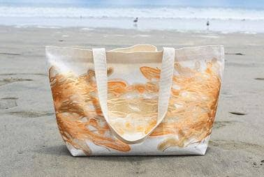 Claribel Earth Tote - Sunset