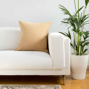 Plain Maize Cushion Covers