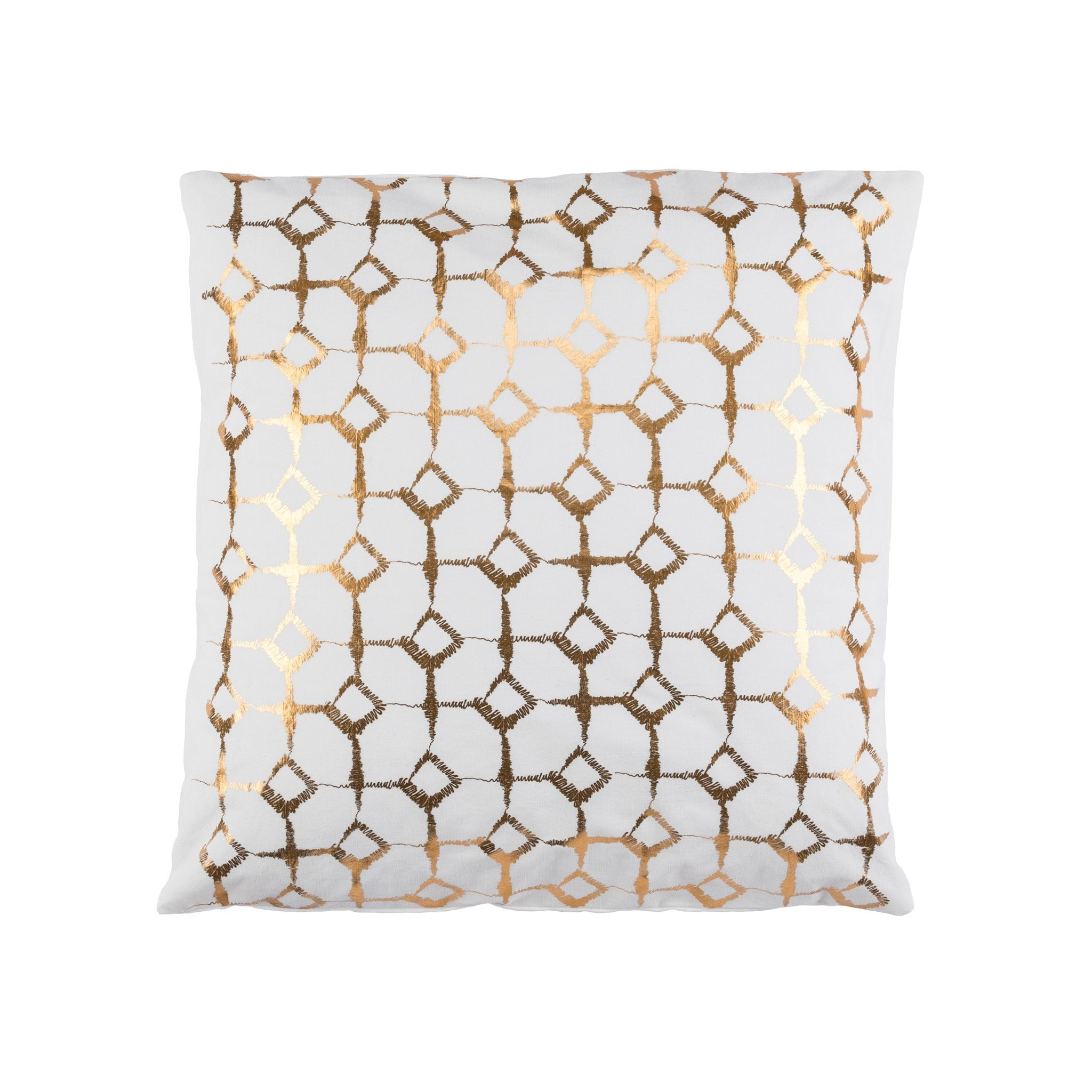 Signature Print Ivory Cushion Covers