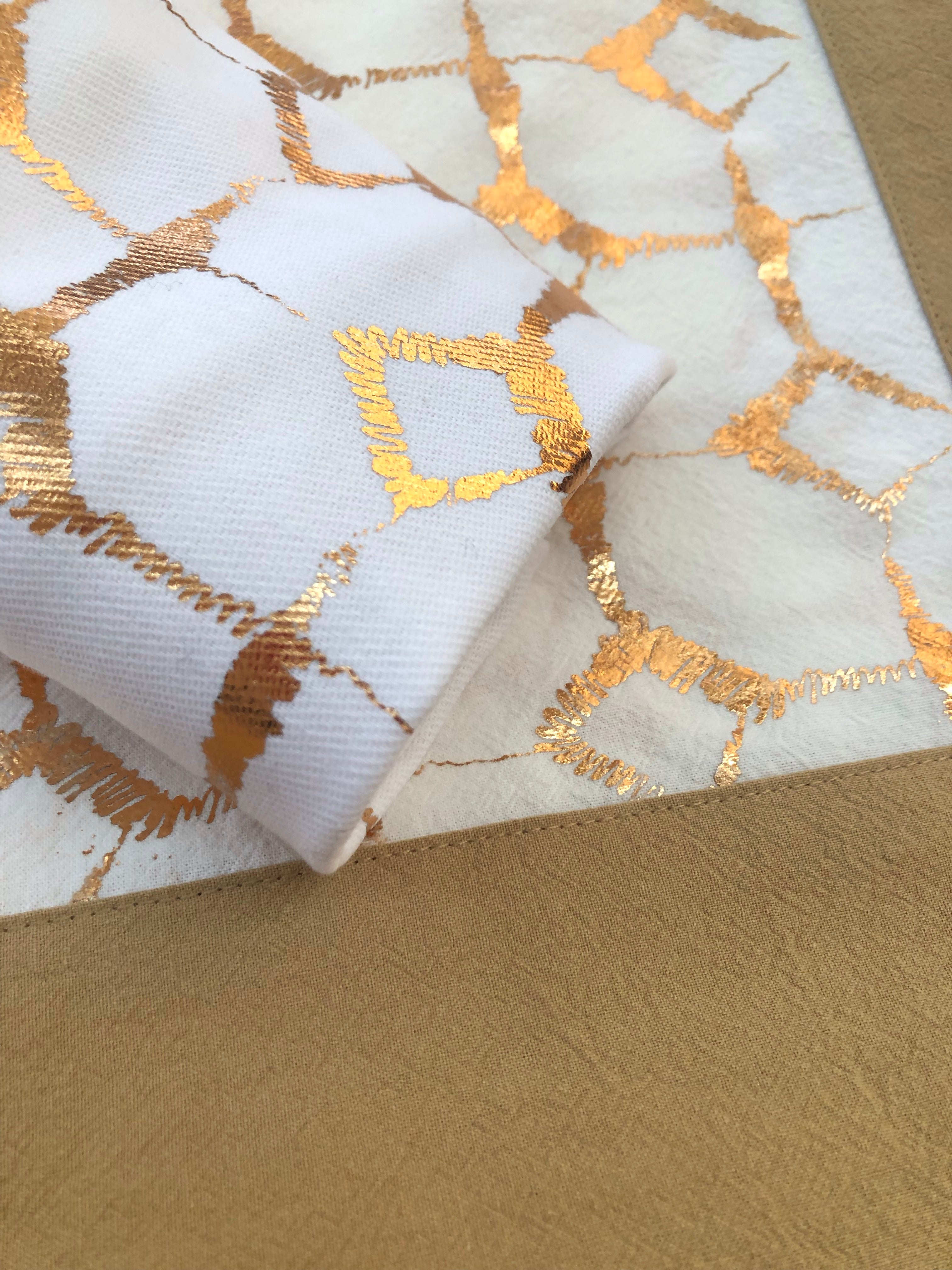 Signature Print Placemat Maize & Ivory