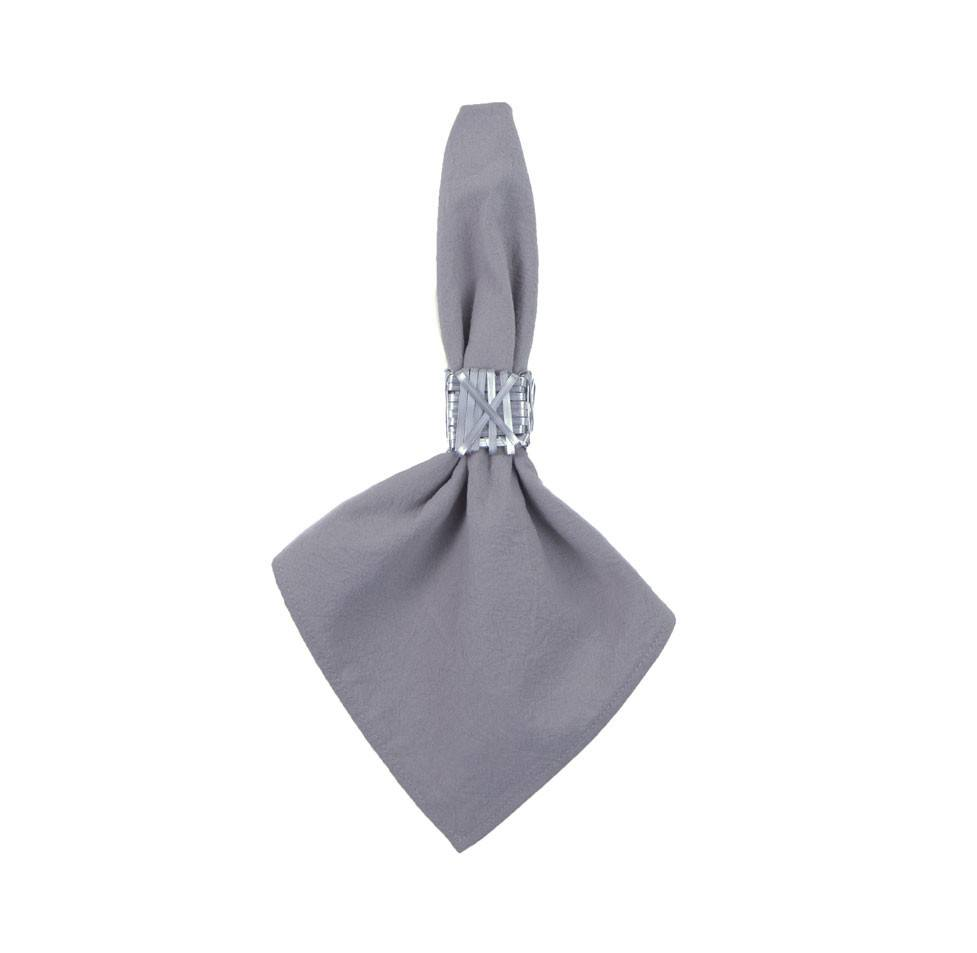 Napkins - Cotton Napkin Grey