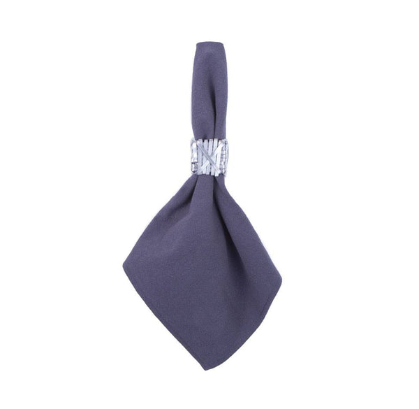 Napkins - Cotton Napkin Steel Blue