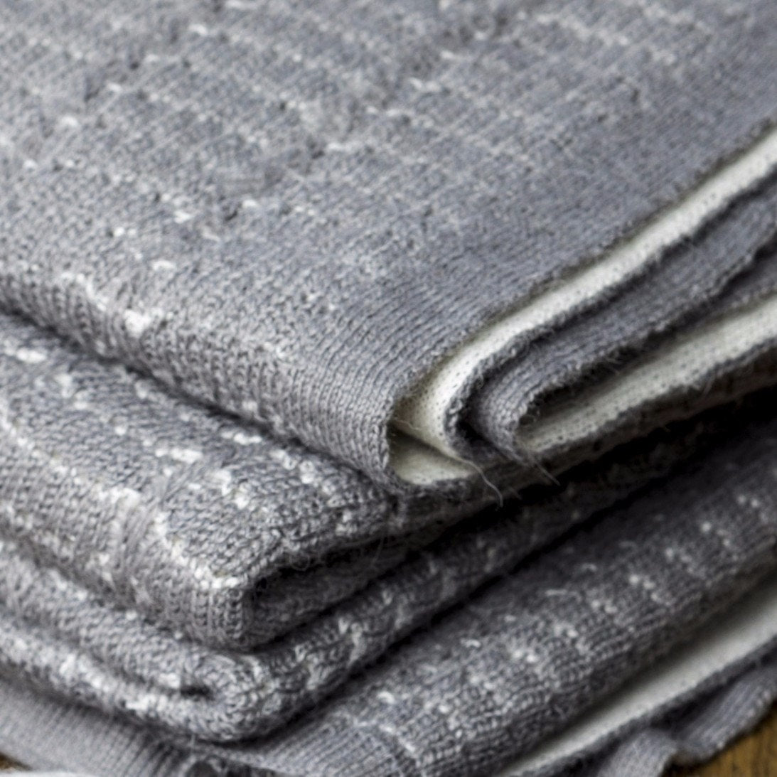 Throws - Chelsea Throw Grey & Ivory