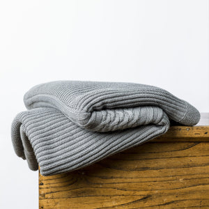Throws - Holland Throw Grey