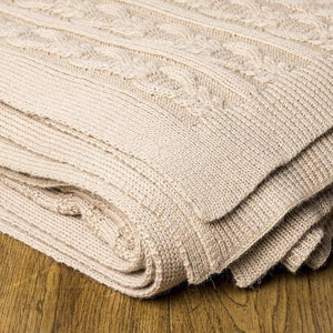 Claribel Baby Alpaca Throw 8