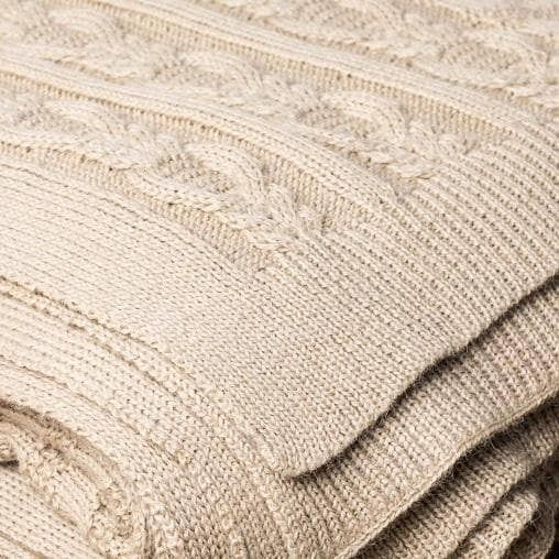 Primrose Throw Beige