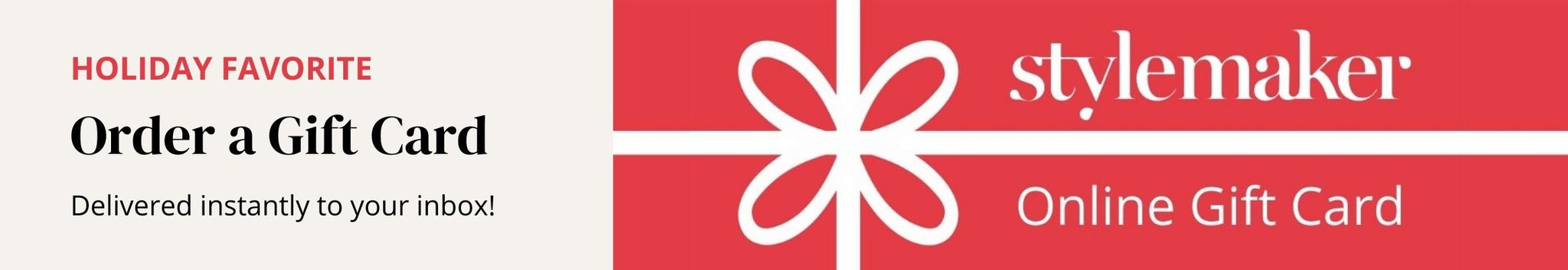 Order a Style Maker Fabrics Gift Card