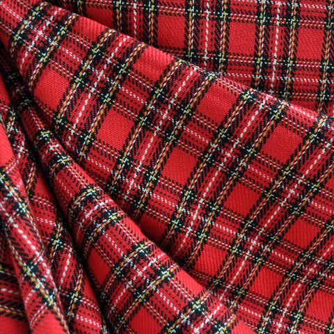 Tartan Plaid Red SY