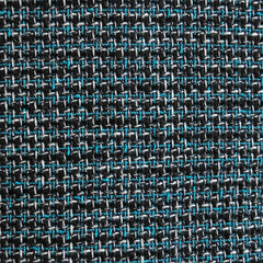 Tweed Boucle Black/Aqua SY - Sold Out - Style Maker Fabrics