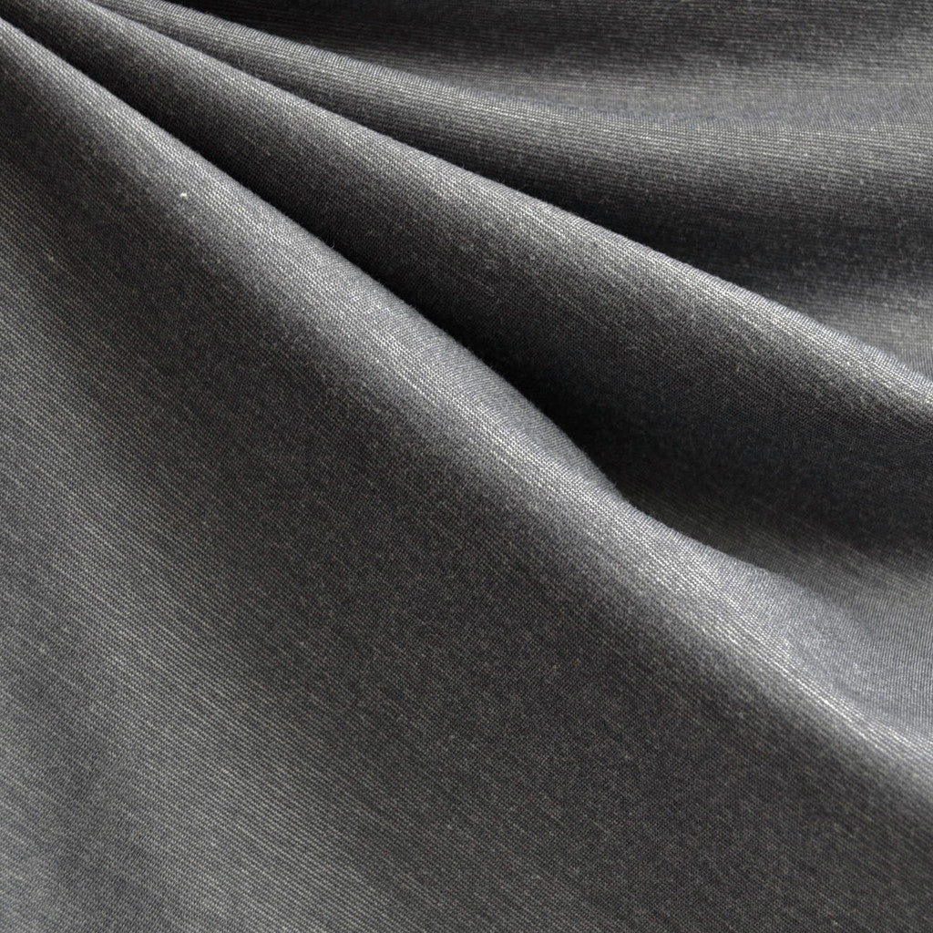 Ponte Knit Solid Grey - Fabric - Style Maker Fabrics