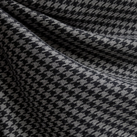 Woven Houndstooth Black/Grey