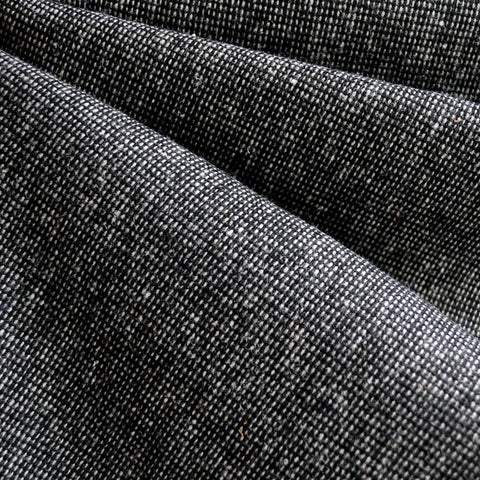 Wool Blend Texture Black/White