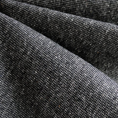 Wool Blend Texture Black/White - Fabric - Style Maker Fabrics