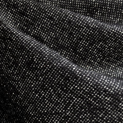Wool Blend Tweed Texture Black/White - Fabric - Style Maker Fabrics
