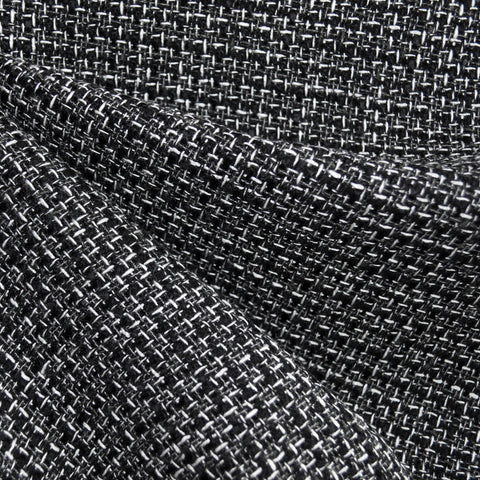 Tweed Boucle Black/White/Grey