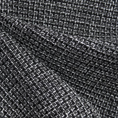 Tweed Boucle Black/White/Grey - Fabric - Style Maker Fabrics