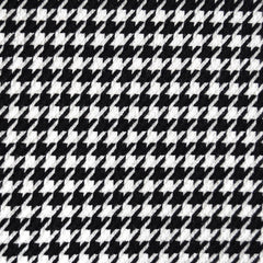 Woven Houndstooth Black/White SY - Sold Out - Style Maker Fabrics