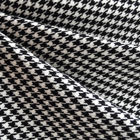 Woven Houndstooth Black/White