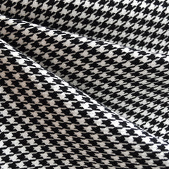 Woven Houndstooth Black/White - Fabric - Style Maker Fabrics