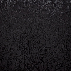 Stretch Twill Jacquard Black - Sold Out - Style Maker Fabrics