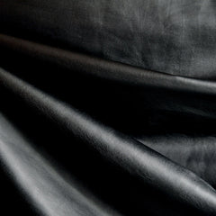 Faux Leather Knit Black - Sold Out - Style Maker Fabrics