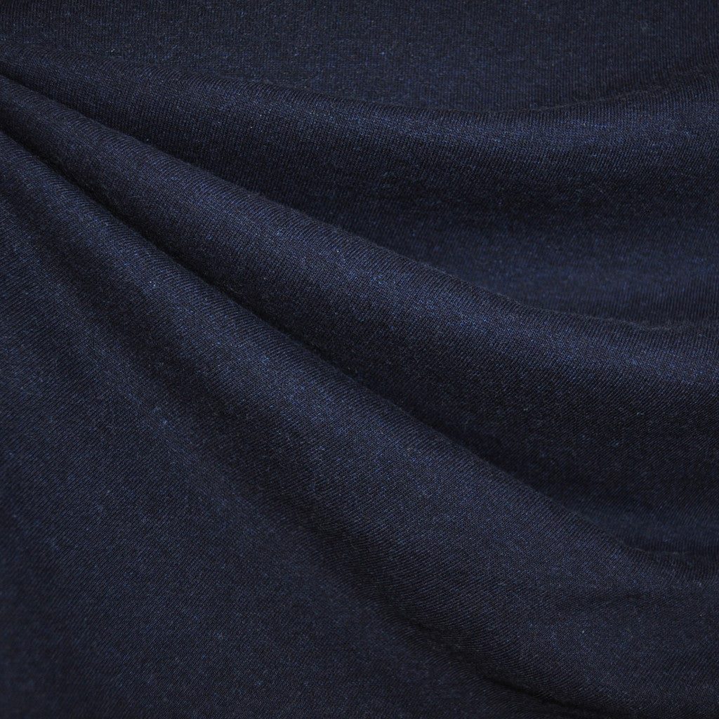 French Terry Solid Indigo - Sold Out - Style Maker Fabrics