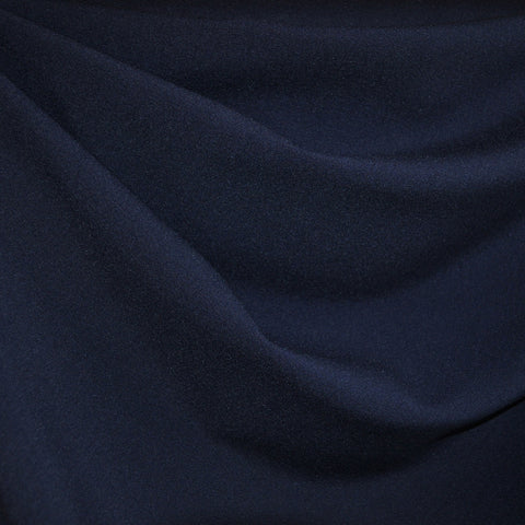 Plainweave Stretch Suiting Navy