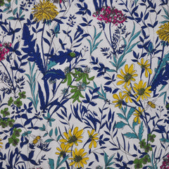 Wonder Forest Cotton Lawn Floral White - Sold Out - Style Maker Fabrics
