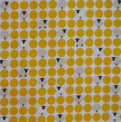 Westex Cotton Shirting Sheep Dot Yellow SY - Sold Out - Style Maker Fabrics