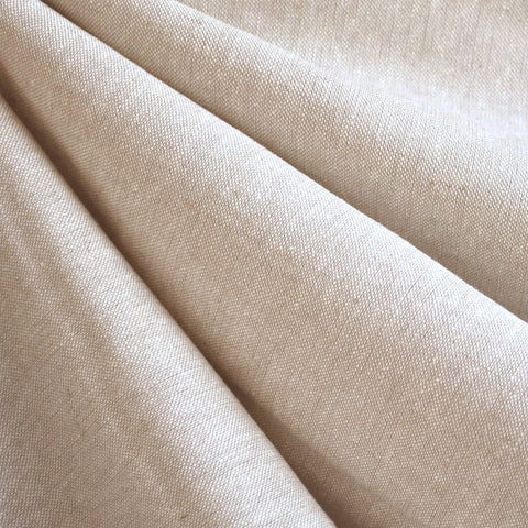 Essex Yard Dyed Linen Blend Solid Flax