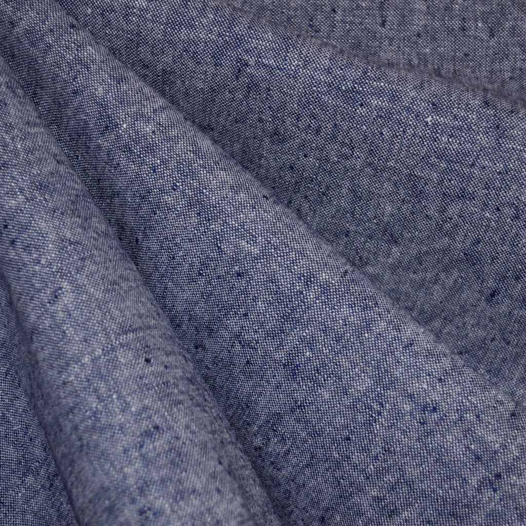 Essex Yarn Dyed Linen Blend Denim - Sold Out - Style Maker Fabrics