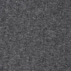 Essex Yarn Dyed Linen Blend Black - Fabric - Style Maker Fabrics