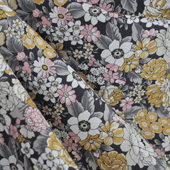 London Calling Lawn Floral Vintage - Fabric - Style Maker Fabrics
